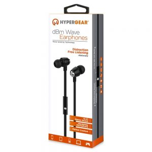 HyperGear DBM Wave Stereo Headphones 3.5mm