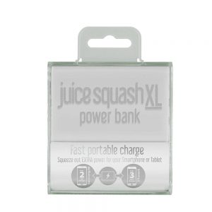 Juice Squash XL 5600mAh Power Bank White