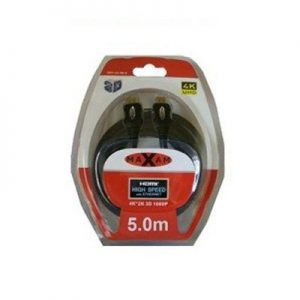 Maxam HDMI to HDMI Cable Blister Pack 5M