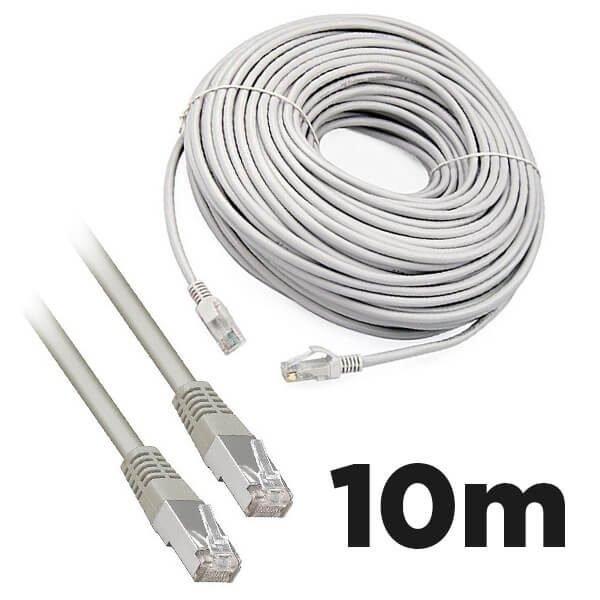 Cat5e RJ45 10m Moulded Ethernet Network Patch