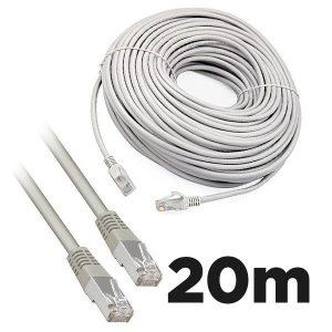 Cat5e RJ45 20m Moulded Ethernet Network Patch