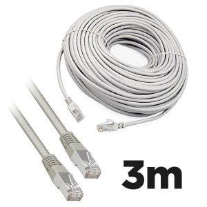 Cat5e RJ45 3m Moulded Ethernet Network Patch