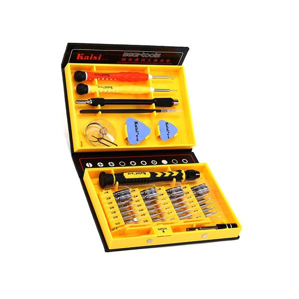 Kaisi Versatile Tool Set 38-in-1 for Mobile Phones, PC, Laptop, Camera & Watch Repairs