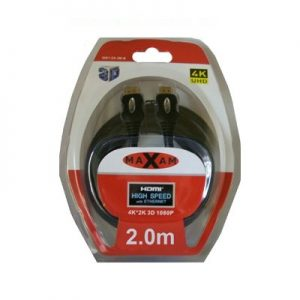 Maxam HDMI M-M Cable Certified Premium 2M