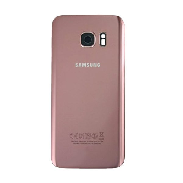 Genuine Samsung Galaxy S8 Plus G955 Battery Back Cover Pink Gold
