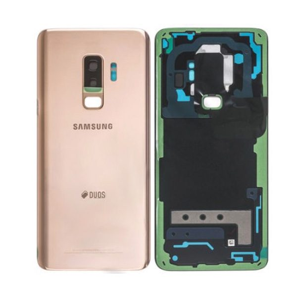 Genuine Samsung Galaxy S9+Plus G965F Back Cover Sunrise Gold