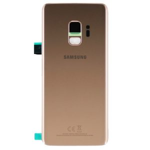 Genuine Samsung Galaxy S9 G960F Battery Back Cover Sunrise Gold