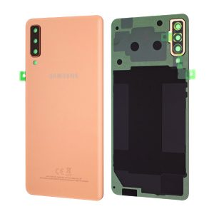 Genuine Samsung Galaxy A7 2018 A750 Battery Back Cover Gold