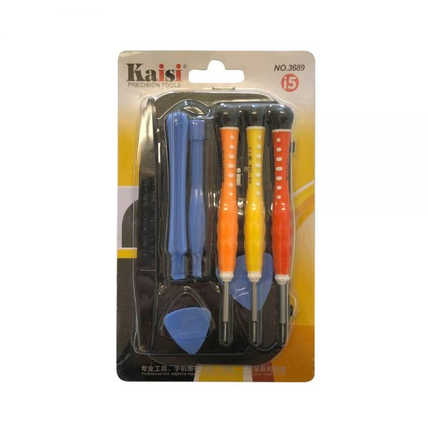 Kaisi 3689 Repair Tool Kit for iPhone 6S/6/5/4 and Samsung Smartphones