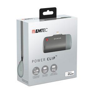 EMTEC Power Clip Small Power Bank for Apple iPhones U400