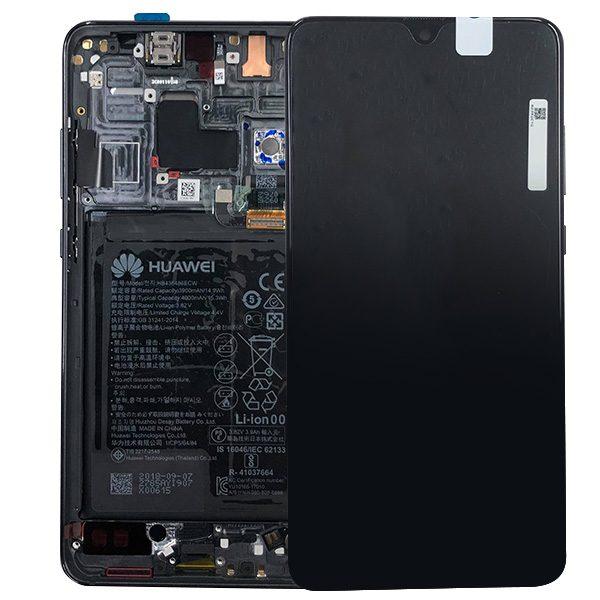 Genuine Huawei Mate 20 LCD Screen and Digitizer Black plus Battery