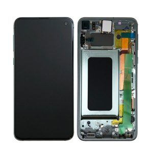 Genuine Samsung Galaxy S10E G970 LCD Screen with Digitizer Prism Green