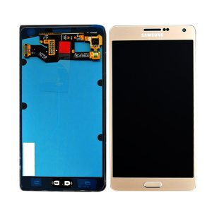 Genuine Samsung Galaxy A7 SM A700F SuperAmoled Lcd Digitizer Gold