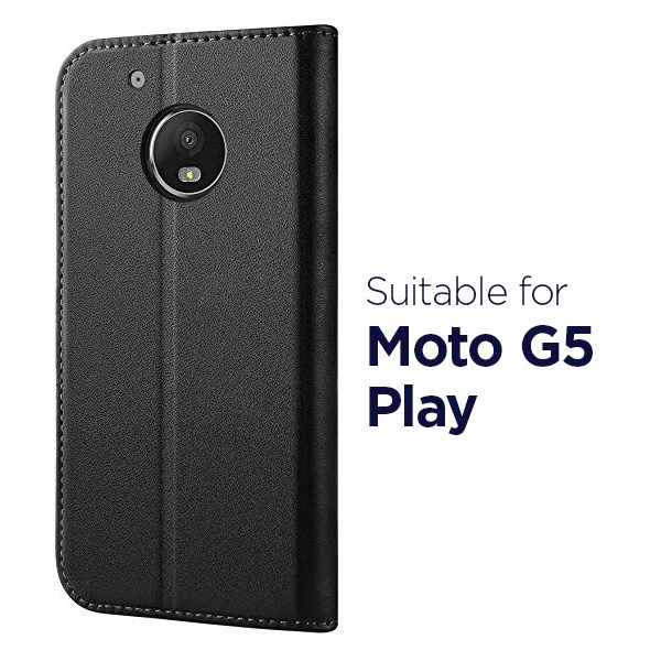Wallet Flip Case for Motorola Moto G5 Play