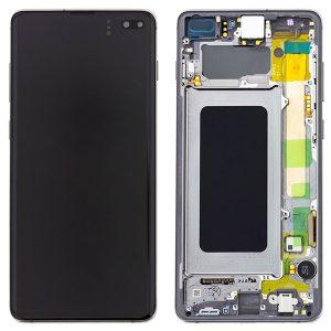 Genuine Samsung Galaxy S10+ Plus G975 LCD Screen with Digitizer Prism Black
