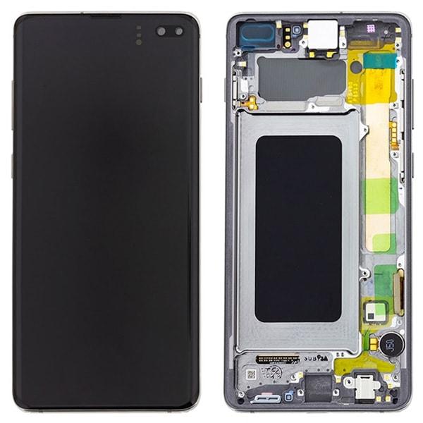 Genuine Samsung Galaxy S10 Plus G975 LCD Screen with Digitizer Prism Black