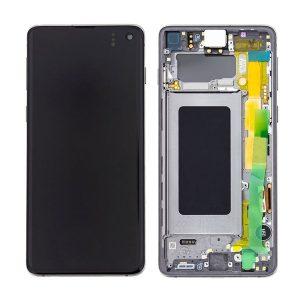 Genuine Samsung Galaxy S10 G973 LCD Screen with Digitizer Prism Black