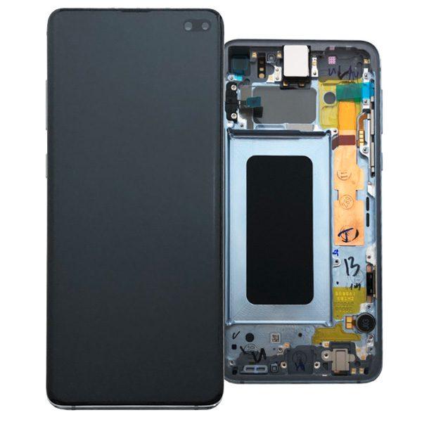 Genuine Samsung Galaxy S10+ Plus G975 LCD Screen with Digitizer Prism Blue
