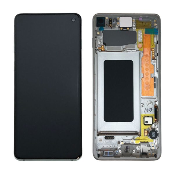 Genuine Samsung Galaxy S10 G973 LCD Screen with Digitizer Prism Blue