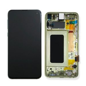 Genuine Samsung Galaxy S10E G970 LCD Screen with Digitizer Canary Yellow