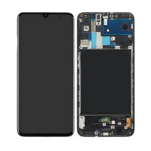 Genuine Samsung Galaxy A70 A705 LCD Display with Digitizer / Part Number/MPN: GH82-19747A / Color: Black delivered in UK, EU & the rest of the world.