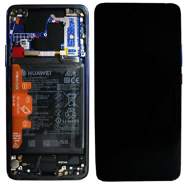 Genuine Huawei Mate 20 PRO LCD Screen and Digitizer Twilight plus Battery