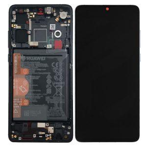 Genuine Huawei P30 LCD Screen and Digitizer Black plus Battery