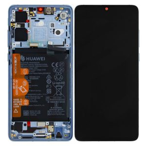 Genuine Huawei P30 LCD Screen and Digitizer Breathing Crystal plus Battery