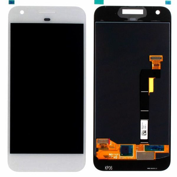 Genuine Google Pixel LCD Digitizer Assembly White