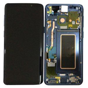 Genuine Samsung Galaxy S9 G960 LCD Screen and Digitizer Polaris Blue