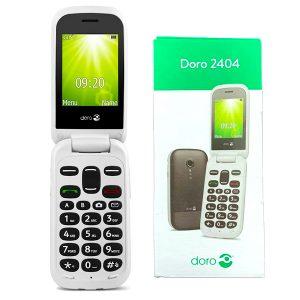 Doro 2404 Flip Phone Easy to Use