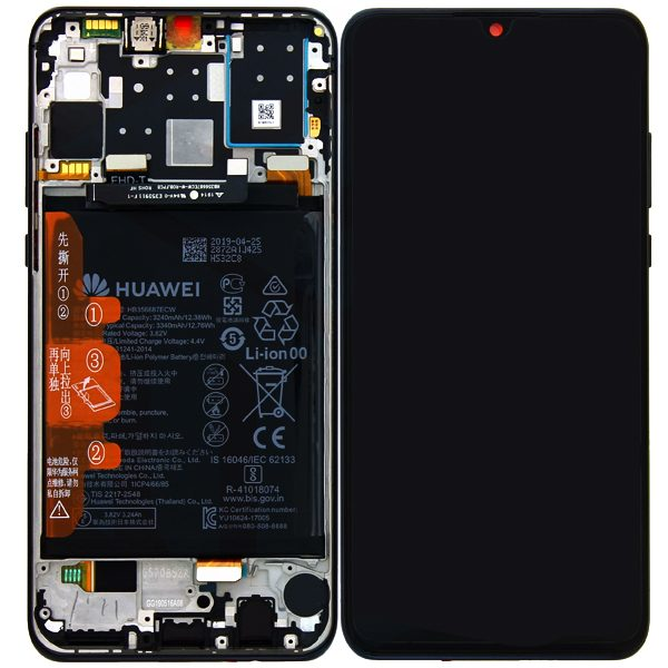 Genuine Huawei P30 Lite LCD Screen and Digitizer Blue plus Battery