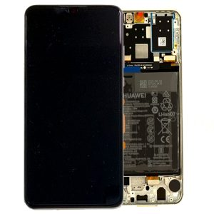 Genuine Huawei P30 Lite LCD Screen and Digitizer White plus Battery