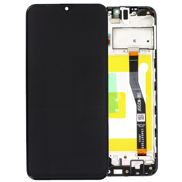 Genuine Samsung Galaxy M20 M205 LCD Digitizer Black/Blue