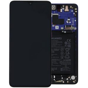 Genuine Huawei Mate 20 LCD Screen and Digitizer Twilight plus Battery