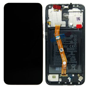 Genuine Huawei Mate 20 Lite LCD Screen and Digitizer Black plus Battery
