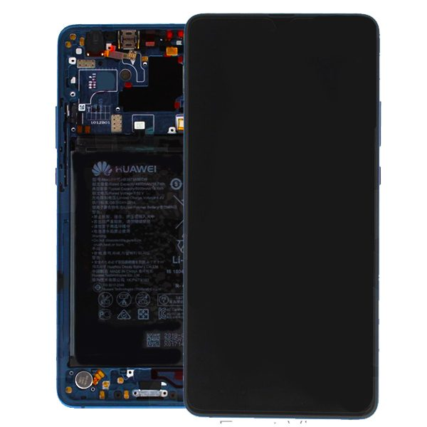 Genuine Huawei Mate 20 X LCD Screen and Digitizer Blue plus Battery