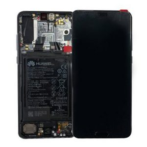 Genuine Huawei Mate 20 X LCD Screen and Digitizer Silver plus Battery