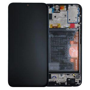 Genuine Huawei P Smart 2019 LCD Screen and Digitizer Black plus Battery