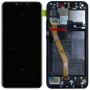 Genuine Huawei P Smart Plus LCD Screen and Digitizer Black plus Battery