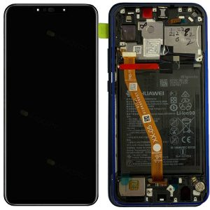 Genuine Huawei P Smart Plus LCD Screen and Digitizer Purple plus Battery