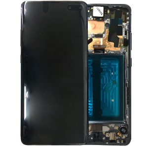 Genuine Samsung Galaxy S10 5G G977 LCD Screen with Digitizer Majestic Black