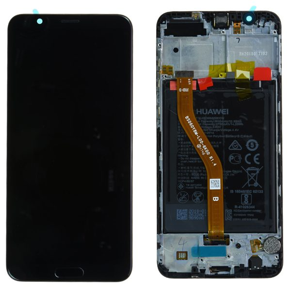 Genuine Huawei Honor View 10 LCD Screen and Digitizer Black plus Battery