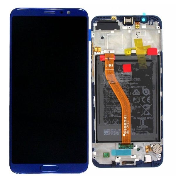 Genuine Huawei Honor View 10 LCD Screen and Digitizer Blue plus Battery