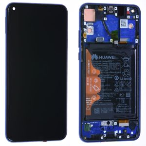 Genuine Huawei Honor View 20 LCD Screen and Digitizer Blue Phantom plus Battery