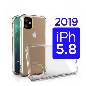 New iPhone iPhone 11 5.8 inch 2019 Clear Gel Protective Case