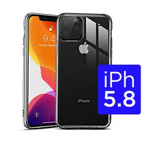 New iPhone 5.8 inch 2019 360 Full Cover Clear TPU Protective Case