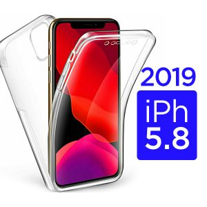 New iPhone 5.8 inch 2019 360 Clear Gel Protective Case