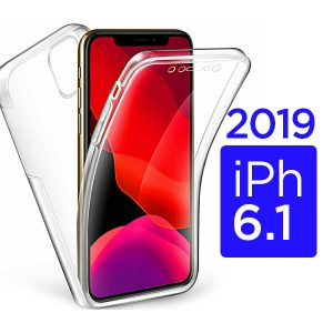 New iPhone 6.1 inch 2019 360 Clear Gel Protective Case