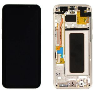 Genuine Samsung Galaxy S8 Plus G955 SuperAmoled Lcd Screen Digitizer Gold
